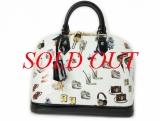 Túi Louis Vuitton Alma PM trắng đen M50466