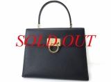 Túi xách Ferragamo kelly màu đen BA-21 0290