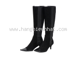 MS2661 Boot Chanel size 35 1/2C da lộn