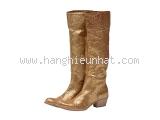 MS2969 Boot Miumiu size 36 1/2 vàng