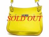 Túi đeo chéo Hermes jypsiere 28 màu vàng