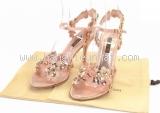 Sandal Louis Vuitton ánh hồng size 35