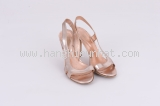 MS2930 Sandal sergio rossi size 36 1/2 hồng SUMMER SALE