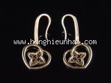 S Bông tai Louis Vuitton vàng hồng K18PG