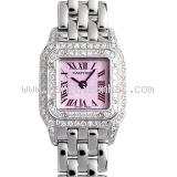 Đồng hồ Cartier K18WG kim cương
