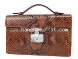 Túi xách nữ Gucci Python màu nâu da rắn 331.823