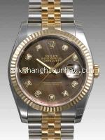 NEW Đồng hồ Rolex datejust K18YG kim cương 116233NG