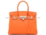 NEW Túi Hermes birkin 30 orange poppy
