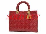 Túi xách Christian Dior màu đỏ