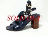 S Sandal Louis Vuitton size 36 1/2 navy