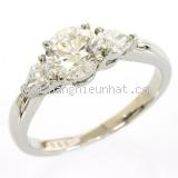 Nhẫn kim cương Tiffany&Co 1.068ct size 15.5