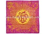 S Khăn hermes tím hồng Mosaique