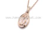 S Vòng cổ Cartier K18PG kim cương