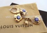 S Móc khóa Louis Vuitton vàng tím
