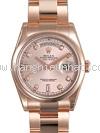 NEW Đồng hồ Rolex day-date 118205FA vàng hồng