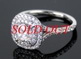 Nhẫn kim cương Tiffany&Co 0.86ct