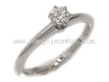 Nhẫn kim cương Tiffany & Co 0.24ct màu trắng size 11.5