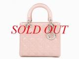 S Túi xách Christian Dior  lady dior màu hồng