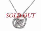 SA Vòng cổ Louis Vuitton K18WG kim cương