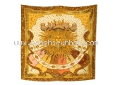 MS5331 Khăn Hermes mặt trời vàng