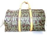 Túi du lịch Louis Vuitton size 50 rêu nâu M92196