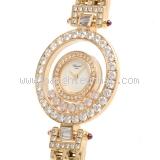 Đồng hồ Chopard nữ happy diamond rubi đỏ