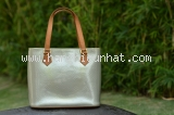 Ms3207 Túi Louis VUitton houston ghi xanh SALEOFF