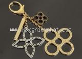 Móc khóa louis Vuitton màu vàng M65090