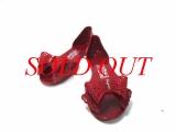 Sandal Ferragamo màu đỏ size 7