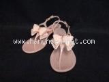Sandal Ferragamo màu kem hồng size 9