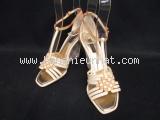 Sandal Louis Vuitton màu trắng ghi size 36