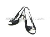 Sandal Chanel màu đen size 36 C