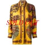 MS5322 Áo Hermes size 38 vàng cam