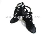 Sandal Louis Vuitton màu đen size 36