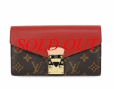 MS5323 Ví Louis Vuitton pallas đỏ