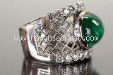 Nhẫn kim cương Emerald 10.35ct size 16