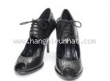 S Giày cao gót Louis Vuitton màu đen size 35 1/2