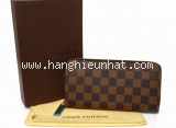 S Ví da Louis Vuitton zippy màu nâu N60015