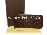 S Ví da Louis Vuitton zippy màu nâu M60017