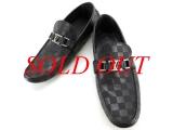 MS5400 NEW Giày Louis Vuitton Mocassin màu đen