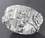 Nhẫn Chanel K18WG kim cương hoa trà size 11-Nhan-Chanel-K18WG-kim-cuong-hoa-tra-size-11