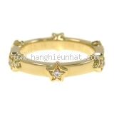 Nhẫn Chanel YG kim cương size 12