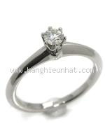 SA Nhẫn Tiffany&Co Pt950 kim cương size 8.5