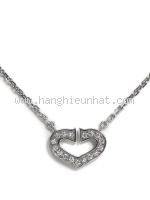 SA Vòng cổ Cartier kim cương trái tim