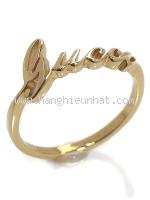 SA Nhẫn Gucci vàng K18YG size 11