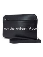 SA Túi cầm tay Louis Vuitton epi màu đen M59362