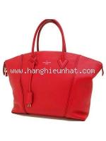 Túi xách Louis Vuitton Lockit màu đỏ M94595