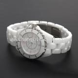 NEW Đồng hồ Chanel nữ ceramic J12 mặt hồng