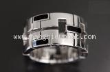 Nhẫn Cartier 750WG màu bạc size 52