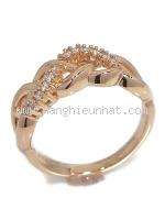 SA Nhẫn Tasaki 18PG kim cương 0.11ct size 12